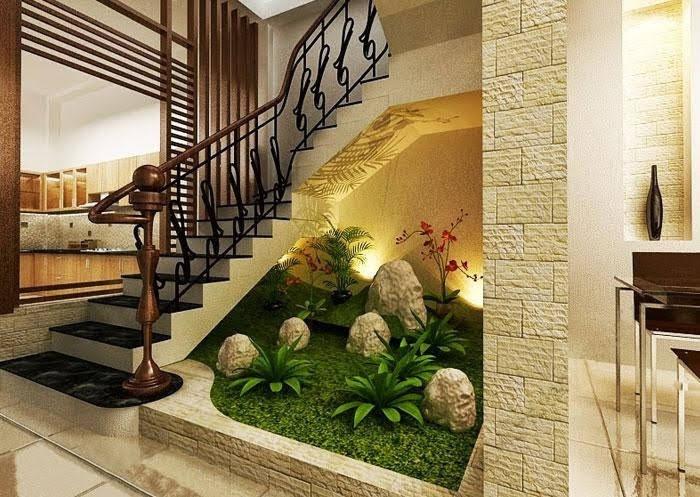 thiết kế tiểu cảnh cầu thang